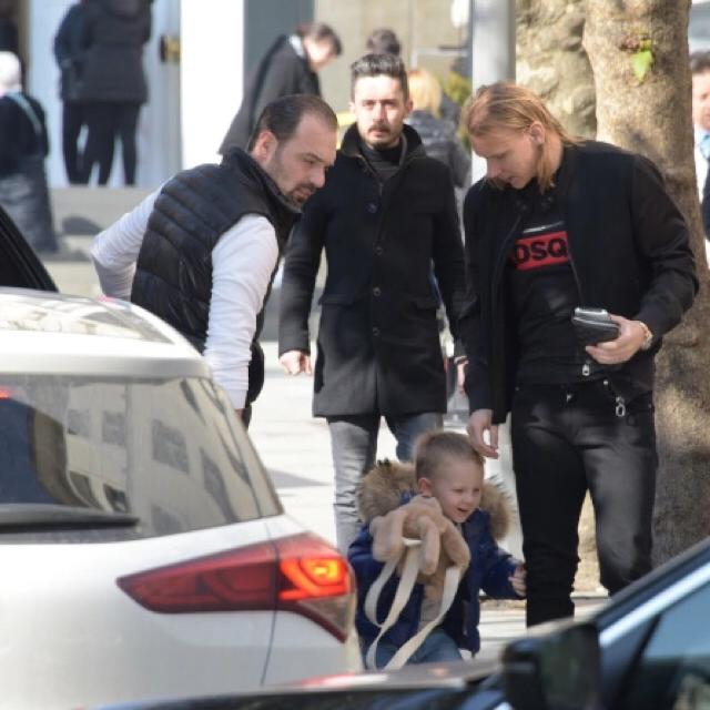 Famebuster Domagoj Vida Oğlu david ile nişantaşında fame buster