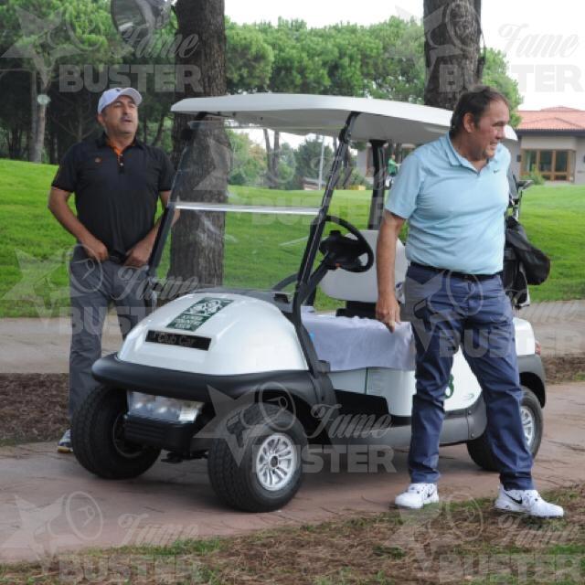 Famebuster Yıldırım Demirören, Mevlüt Çavuşoğlu Büyük golfçüler işbaşında fame buster