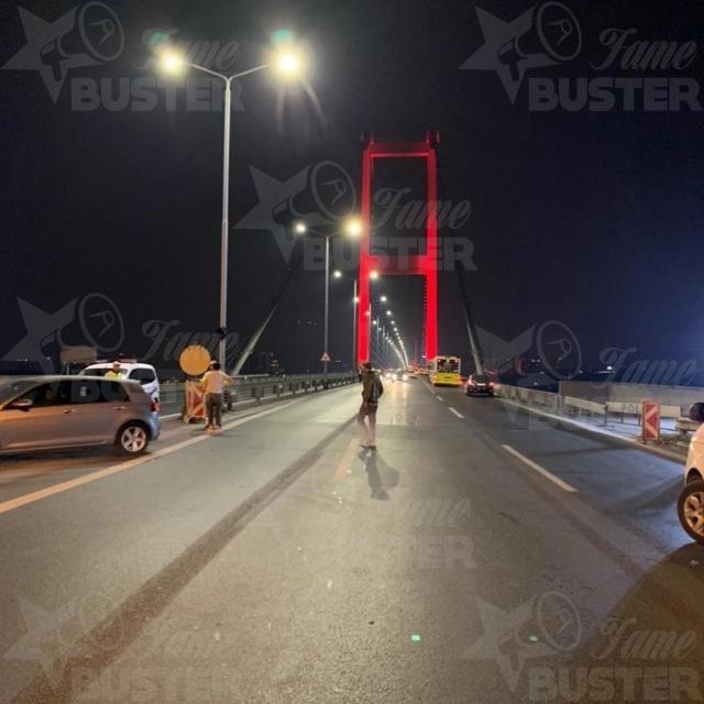 Famebuster Police 15 Temmuz Koprusunde intihar girisimi fame buster