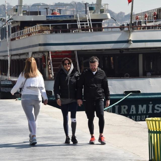 Famebuster Tümer Metin, Gamze Topuz Sabah yürüyüşündeler fame buster