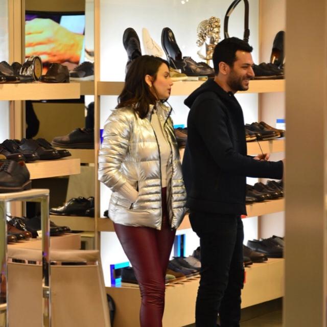 Famebuster Iman ElBani, Murat Yıldırım Kanyon'da ayakkabı bakıyorlar fame buster
