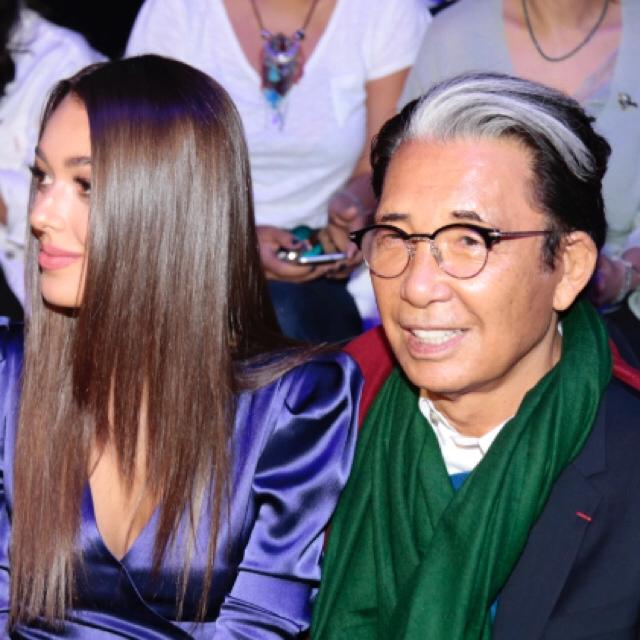 Famebuster Kenzō Takada, Dilan Çiçek Deniz Kenzo Mercedes fashion week'te fame buster
