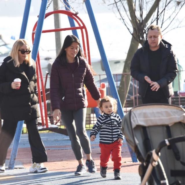 Famebuster Gülşen, Ozan Çolakoğlu Bebek parkındalar ailece fame buster
