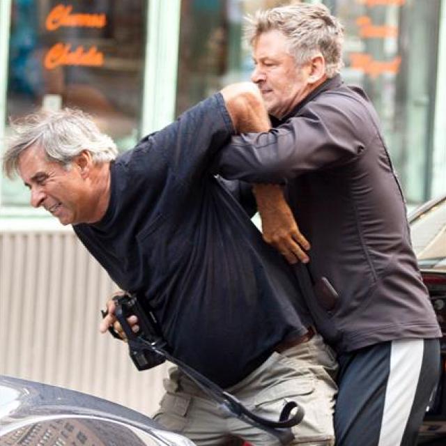 Famebuster Alec Baldwin does Alec is a krav maga expert ??? fame buster